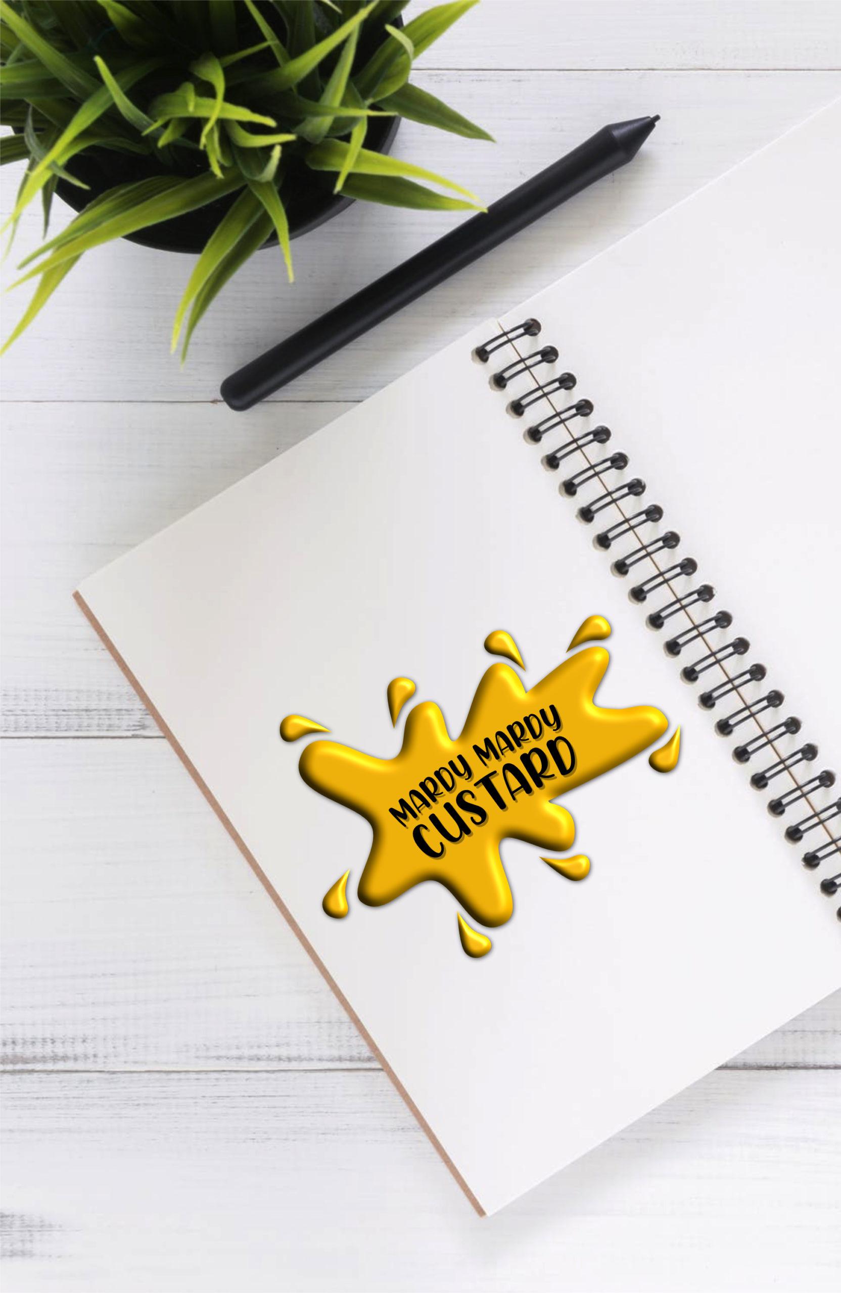 Mardy Mardy Custard Logo Desktop Header