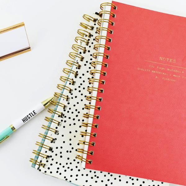 Mardy Mardy Custard Notebooks in Nottingham