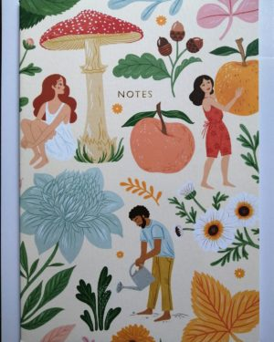 Autumn Garden notebook