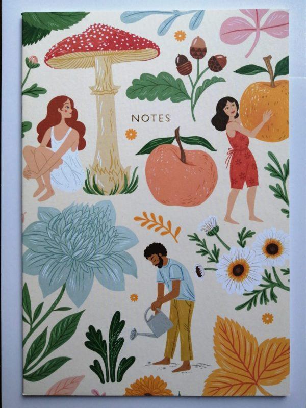 Autumn Garden notebook